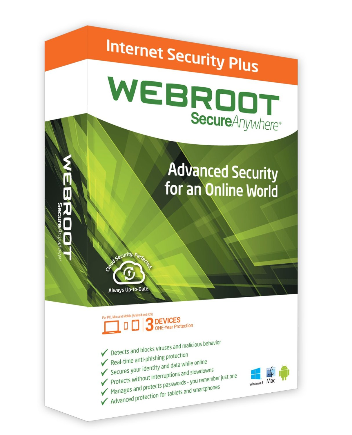 Webroot SecureAnywhere internet security plus 2014